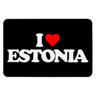 I LOVE ESTONIA MAGNET