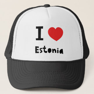 I love Estonia Trucker Hat