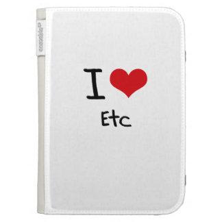 I love Etc Kindle Keyboard Case