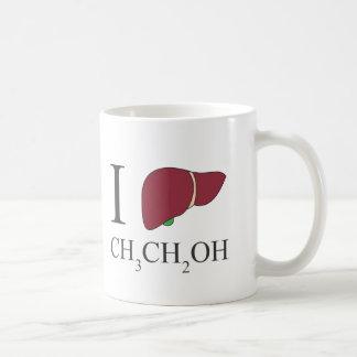I Love Ethanol Coffee Mug