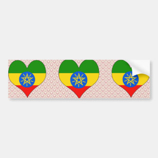 I Love Ethiopia Bumper Sticker