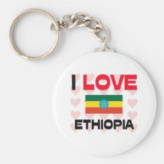 I Love Ethiopia Key Ring