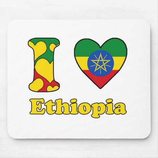 I love Ethiopia Mouse Mat