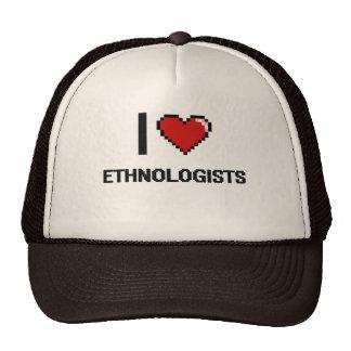 i LOVE eTHNOLOGISTS Trucker Hat
