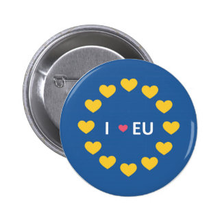 I love EU badge - remain voters in the referendum