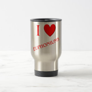 I Love Euphoniums Coffee Mugs
