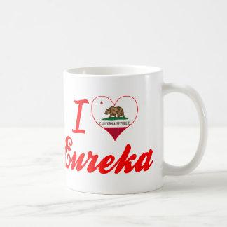 I Love Eureka, California Coffee Mugs