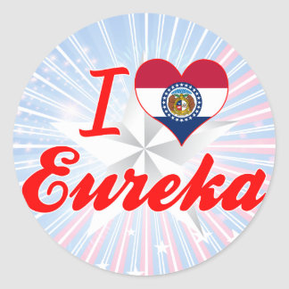 I Love Eureka, Missouri Stickers
