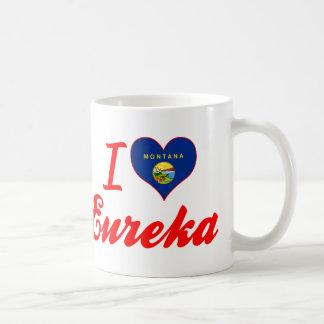 I Love Eureka, Montana Coffee Mugs