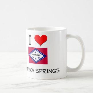 I Love EUREKA SPRINGS Arkansas Mug