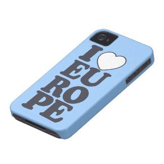 I LOVE EUROPE custom Blackberry case