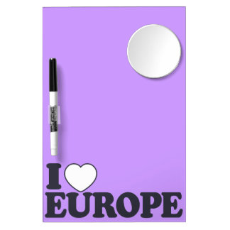 I LOVE EUROPE custom message board