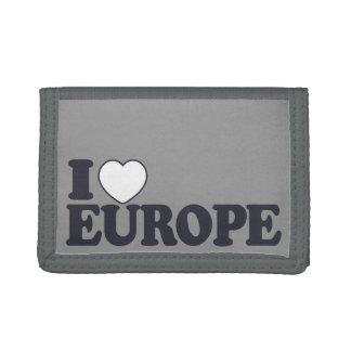 I LOVE EUROPE custom wallets