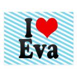 I love Eva Postcards