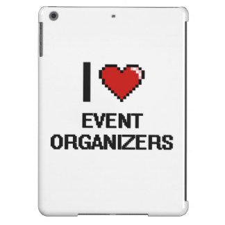 I love Event Organizers Case For iPad Air