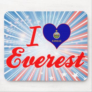I Love Everest, Kansas Mousepads