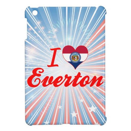I Love Everton, Missouri iPad Mini Covers