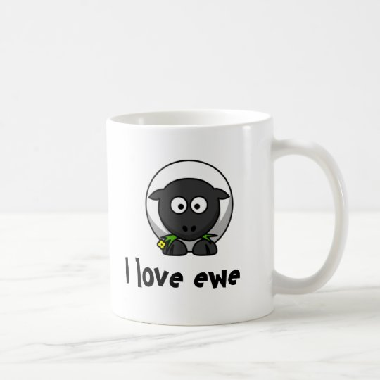 I love ewe coffee mug