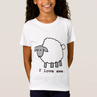 I Love Ewe Sheep T-Shirt