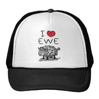 I Love Ewe! Valentines Day Cap