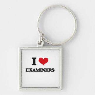 I love EXAMINERS Key Chain