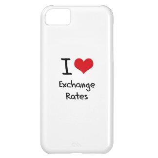 I love Exchange Rates iPhone 5C Covers