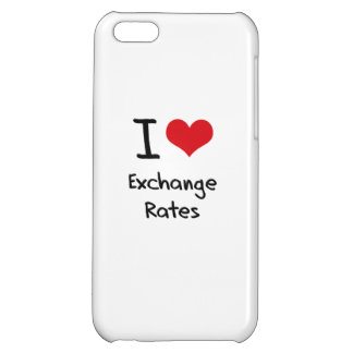 I love Exchange Rates iPhone 5C Case
