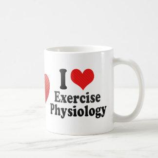 I Love Exercise Physiology Basic White Mug