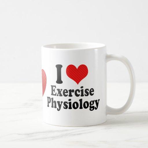 I Love Exercise Physiology Mug