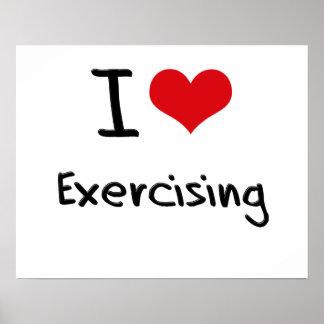 I love Exercising Print