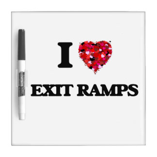 I love Exit Ramps Dry-Erase Whiteboard