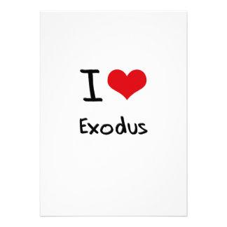 I love Exodus Personalized Invitations
