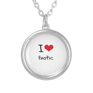 I love Exotic Custom Necklace