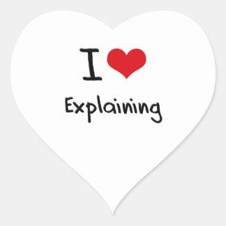 I love Explaining Stickers