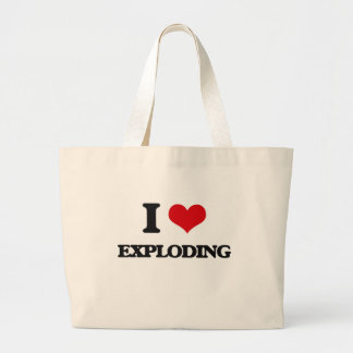 I love EXPLODING Canvas Bags