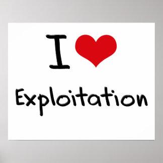 I love Exploitation Posters