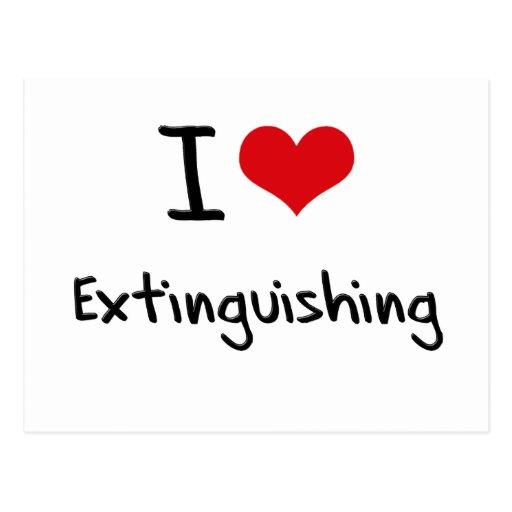 I love Extinguishing Post Cards