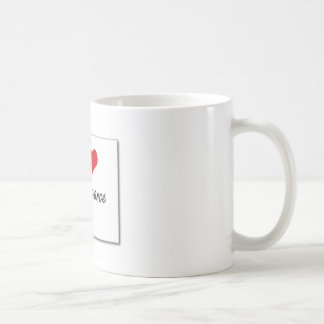 I love extravagance basic white mug