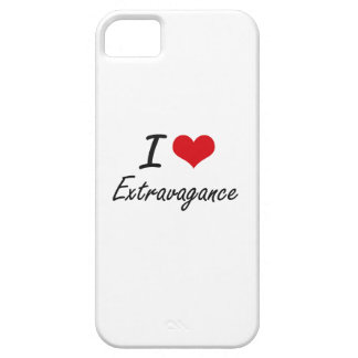 I love EXTRAVAGANCE iPhone 5 Case