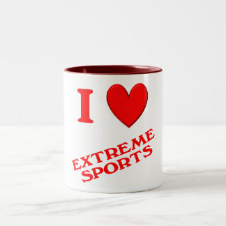 I Love Extreme Sports Mug