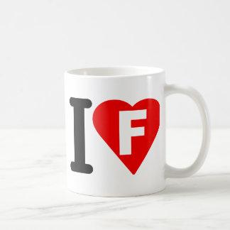I-LOVE-F COFFEE MUGS