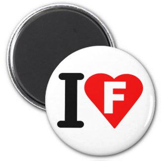 I-LOVE-F REFRIGERATOR MAGNETS