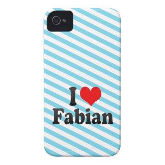I love Fabian Blackberry Case