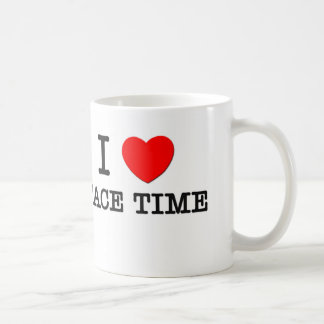 I Love Face Time Coffee Mug