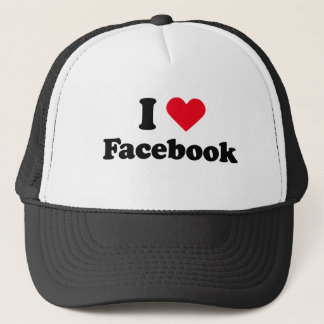 I love facebook trucker hat