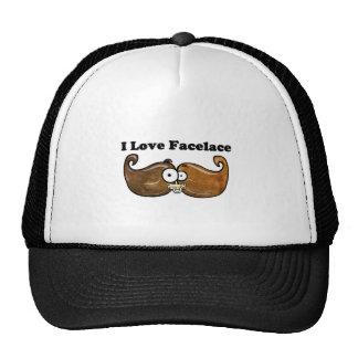 I Love Facelace Cap