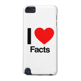 i love facts iPod touch (5th generation) case