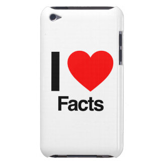 i love facts iPod touch cases