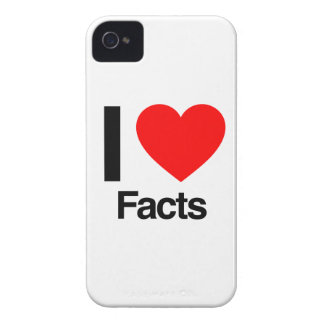 i love facts iPhone 4 cover
