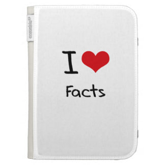 I Love Facts Kindle 3 Covers